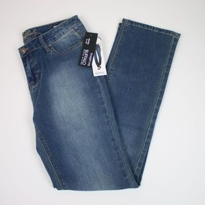 NEW BUFFALO Misha Mid-Rise Straight Jeans 6